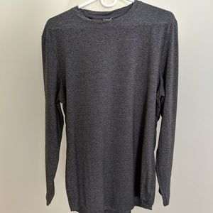 Gymshark Men's Solace Longline Long-Sleeve T-Shirt